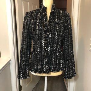 ❤️ 50% OFF! Rafaella black/white blazer Size 8